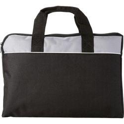 Bullet Tampa Conference Bag (Solid Black/Grey) (38 x 2.5 x 28cm)
