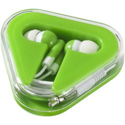 Bullet Rebel Earbuds (Lime/White) (6 x 6.5 x 1.7 cm)