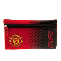 Manchester United FC Pencil Case (Red/Black) (One Size)