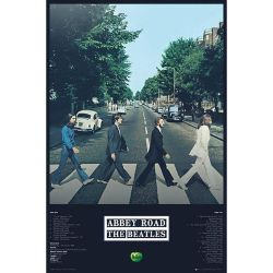 The Beatles Abbey Road Poster (Multicoloured) (One Size)