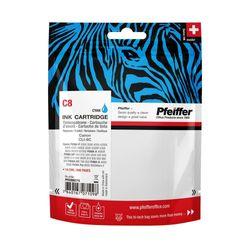 Pfeiffer Printer Cartridge, compatible with Canon CLI-8C Cyan, PFIC008C