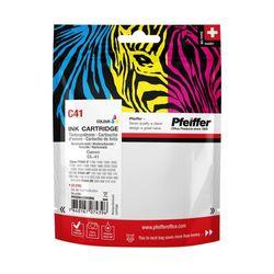 Pfeiffer Printer Cartridge, compatible with Canon CL-41 Colour (remanufactured), PFIC041TR