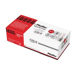 Pfeiffer Double Wire Combs 14.3 mm Red, A4/ 3:1 34 Loops, 120 Sheets max, Commercial pack of 100, PFW11403C2