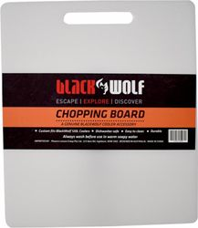 BlackWolf 120L Rolling Cooler Spare Chopping Board White