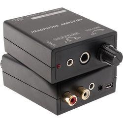 PRO1343 Pro2 Headphone Amplifier Stereo 3.5Mm & RCA Inputs Compact Design HEADPHONE AMPLIFIER