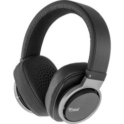 HP17 WINTAL Stereo Wired Headphone Black Colour With Mic Detachable 3.5Mm Cable With In-Line Mic STEREO WIRED HEADPHONE