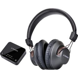 HT4189BLK AVANTREE Wireless Headphone For TV W/ Transmitter 30M Long Range Dual-Link Technology Allows the Pairing of a Second Bluetooth Headphone WIRELESS HEADPHONES FOR TV