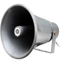 TC15AH SHOW 15W 100V Line Horn Speaker Ip66 Aluminium U Shape Bracket Round Type 100V Line Horn Speaker 15W 100V LINE HORN SPEAKER