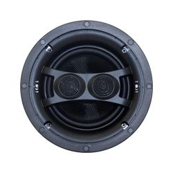 """ECS6DUAL EARTHQUAKE 6.5"""" Ceiling Stereo Speaker Dipole/Bipole Sold As Single ECS6 DUAL Dual Voice Coil Woofers With Kevlar Cone Bodies 6.5"""" CEILING STEREO SPEAKER"""