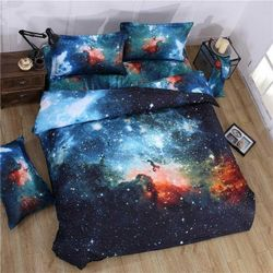 Space Galaxy Double/Queen/King - Quilt Cover Set