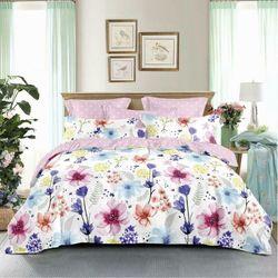 Floral flowers 100% cotton Single/Double/Queen/King/Super King - Quilt Cover Set