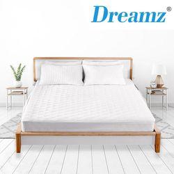 DreamZ Mattress Protector Topper Microfiber Comfort Waterproof Cover Queen