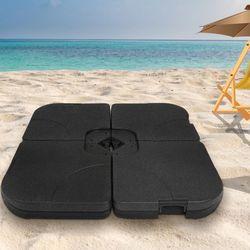 Outdoor Umbrella Base Stand Pod Weight Sun Beach Sand Umbrellas Patio Cantilever