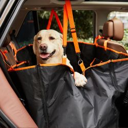 PaWz Premium Pet Back Car Seat Cover Hammock Nonslip Suv Travel Protector Mat