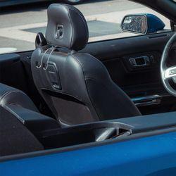 1 Pair Stainless Steel Car Seat Hook Diamond Practical Car