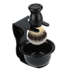 1PCx Men Shaving Brush Safety Razor Holder Rack Stand Mug Cup Bowl Tool Set Gift