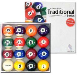 Elephant Traditional Series Billiard Balls