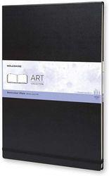 (A3) - Moleskine Art Plus Watercolour Album, A3, Black, Hard Cover (16.5 x 12) (Professional Folio Series)