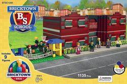 BRICKTOWN USA - SCHOOL AND PLAYGROUND