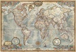 (Miniature Map of the World) - Educa – Jigsaw Puzzle -1000 pieces - 46 x 30 cm