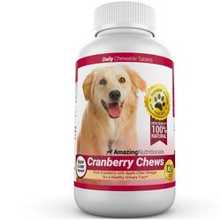 Amazing Cranberry For Dogs Pet Antioxidant, Urinary Tract Support Prevents And