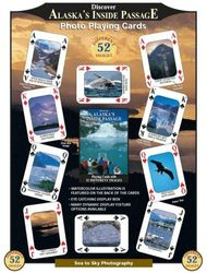 (Alaska's Inside Passage) - Discover Series Fun Playing Cards - Informational & Educational