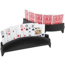 Playing Card Holder, Set of 2 (Cards not included) - By Home-X