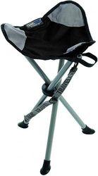 (Black) - TravelChair Slacker Chair, Super Compact, Folding Tripod Camping Stool