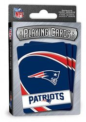 (New England Patriots) - MasterPieces 91724 NFL Sports Playing Cards, Blue, 10cm X 1.9cm X 6.7cm