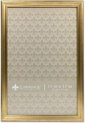 (11x17, Gold) - Lawrence Frames Gold 11x17 Sutter Burnished Picture Frame