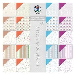 (multicolored) - Ursus Scrapbook Paper Block Structura - Classic Christmas /Book