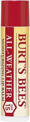 (All-Weather) - Burt's Bees 100 Percent Natural All-Weather SPF15 Moisturising Lip Balm, 4.25 g