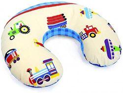 (Trucks) - Cover Feeding Pillow Nursing MATERN ITY Baby Pregnancy Breastfeeding - ONLY Cover (Trucks)