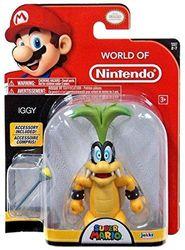 Nintendo World of 10cm Iggy with Wand Toy Figure