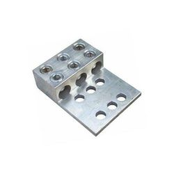 Morris 90962 Morris Products 90962 Mechanical Lug, Mechanical Connector Type, 3 Conductors, aluminium, Two and Four Hole Mount Holes, 800MCM-300MCM Wire Range