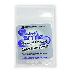 2 Packages of Billy Bob Replacement Thermal Adhesive Fitting Beads for Fake Teeth