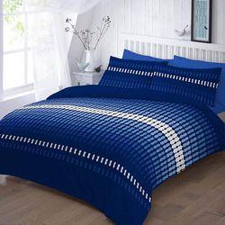 Goldstar® Floral Duvet Covers Bedding Set Single Double King Super King Size (Double, Elliot Blue)