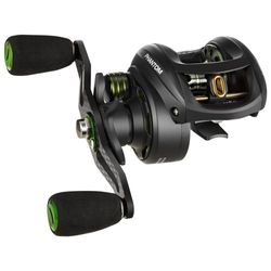 (Right Handed (Crank with Your Right Hand)) - Piscifun Phantom Carbon Baitcasting Reel - Only 170ml, Our Lightest Baitcaster, 7.7kg Carbon Fibre Drag, 7.0:1 Gear Ratio, Dual Brakes Baitcast Fishing Reels, Incredible Cast Distance!