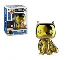 (Gold Chrome) - Funko Pop! Heroes: DC Super Heroes - Batman (Gold Chrome Exclusive) 144
