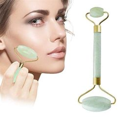 (1 Pcs) - Jade Roller Facial Massager Skin Roller Slimming Tool for Your Face, Neck, Body and Eyes by MUXItrade