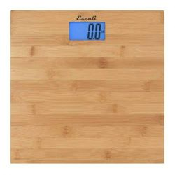 Escali Bath Bath Scale, Bamboo