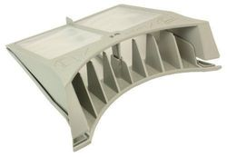 First4spares Hinged Lint/Fluff Filter for Hotpoint Tumble Dryers (Grey)