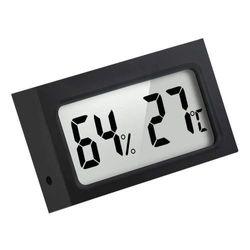 Mini Indoor Digital Temperature Humidity Monitor Thermometer Hygrometer, Black