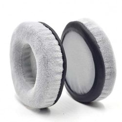 (Gray_105mm) - Defean 60~120mm Exquisite Velour Memory Foam Earpads - Suitable for Many Other Large Over The Ear Headphones for Sennheiser AKG, HifiMan, ATH, Philips, Fostex, Sony Headset (Gray_105mm)