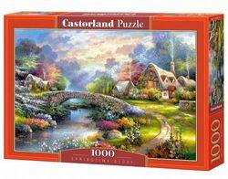 Castorland C-103171 Hobby Panoramic Springtime Glory Jigsaw Puzzle, 1000 Pieces Set, Multi