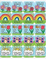 Teacher Created Resources Children's Ten Commandments Stickers, Multi Colour (7002)