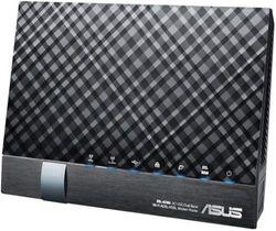 (AC1200 Mbps VDSL/ADSL2+) - ASUS DSL-AC56U AC1200 Wireless Dual-Band VDSL/ADSL 2 + Gigabit Modem Router, 2 USB ports for 3G/4G Support, Media/FTP server for Phone Line Connexions (BT Infinity, YouView, TalkTalk, EE and Plusnet Fibre)