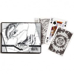 PIATNIK M.C. ESCHER DOUBLE DECK BRIDGE PLAYING CARDS 1