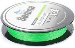 (500yds/18kg/0.30mm, FLUO GREEN) - SENMA Super Braided Fishing Line 3.6lb-36kg High Performance PE Fishing Lines 300YDS/500YDS Ultra-high Sensitivity & Zero Stretch 4 Strands Wire
