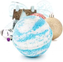 (Winter Wonderland, Pendant) - Bath Bomb Deluxe 240ml And Surprise Jewellery Made in USA, Perfect for Bubble Spa Bath. Handmade Birthday Mothers Day Gifts For Women & Kids (Winter Wonderland, Pendant)